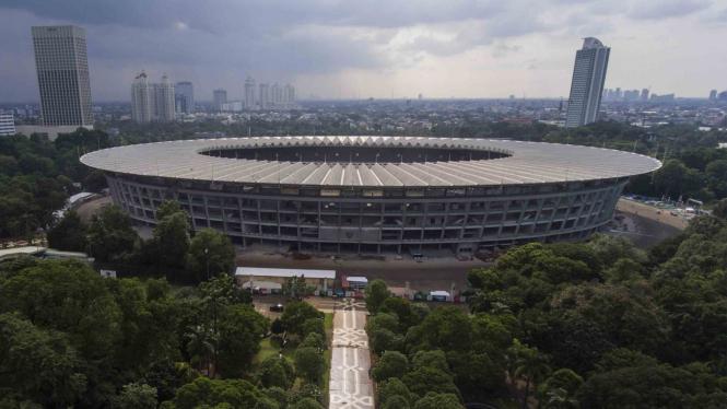 Renovasi Kompleks GBK Senayan Jakarta