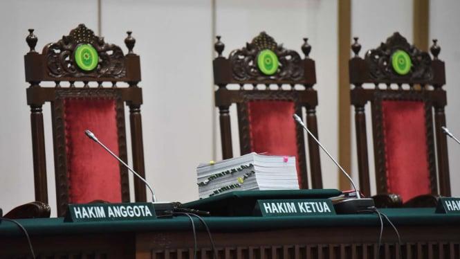 Ilustrasi kasus hukum yang disidangkan di pengadilan.