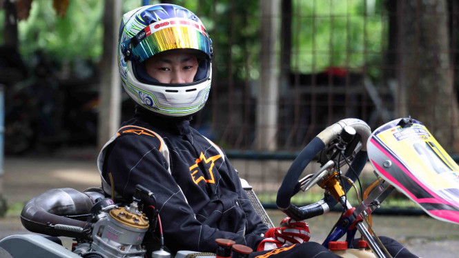 Keanon Santoso Pebalap Muda Yang Incar Panggung F1