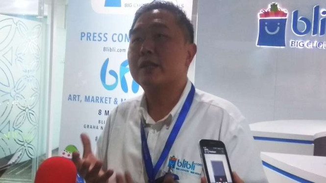 Kusumo Martanto, Chief Executive Officer (CEO) Blibli.com