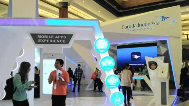 Garuda Indonesia Travel Fair 2017 di JCC, Jakarta