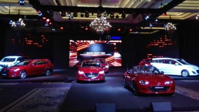 Lima produk baru Mazda