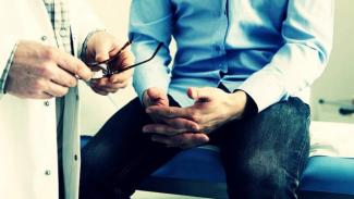 Ilustrasi pasien kanker prostat.