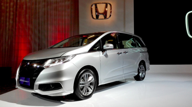 All New Honda Odyssey.