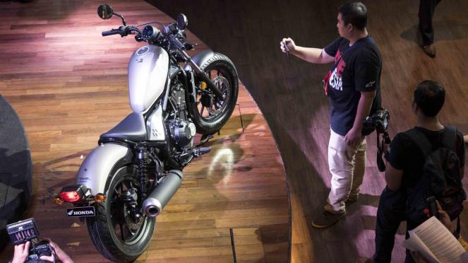 Peluncuran Motor Honda CMX500 Rebel