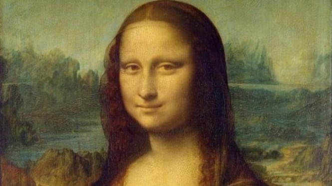 Lukisan Monalisa.