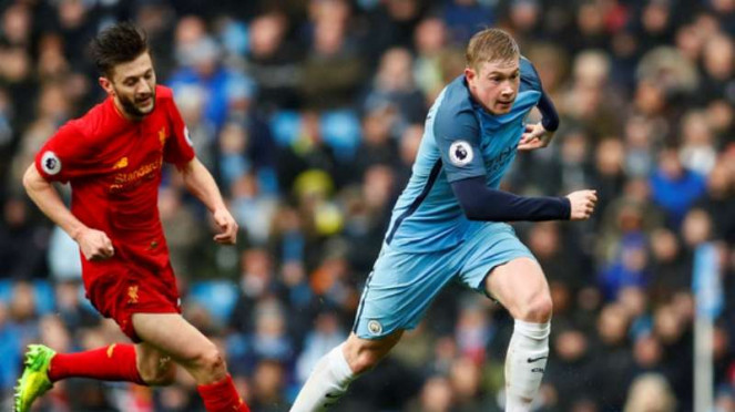 Duel Manchester City vs Liverpool