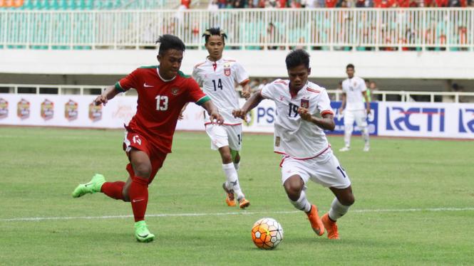 Laga Persahabatan Timnas Indonesia U22 Vs Myanmar – VIVA
