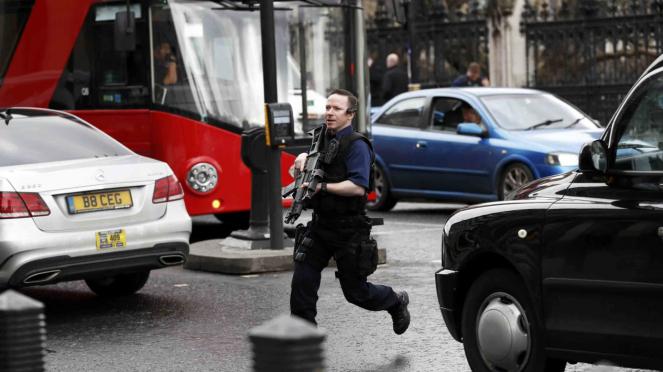 Kondisi Terkini Serangan Teror di Parlemen Inggris