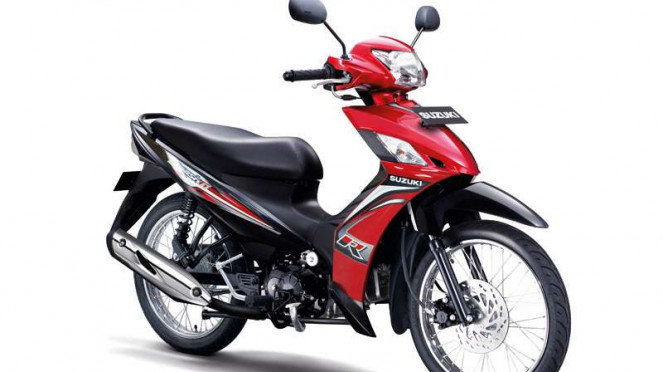 Suzuki Smash baru.