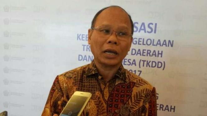 Dirjen Perimbangan Keuangan Kementerian Keuangan, Boediarso Teguh Widodo