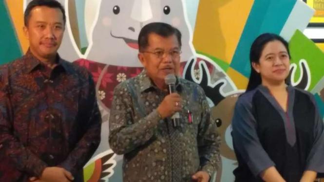 Wakil Presiden Republik Indonesia, Jusuf Kalla (tengah)