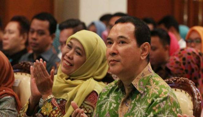 Tommy Soeharto menghadiri penutupan Rapimnas PP Muslimat NU
