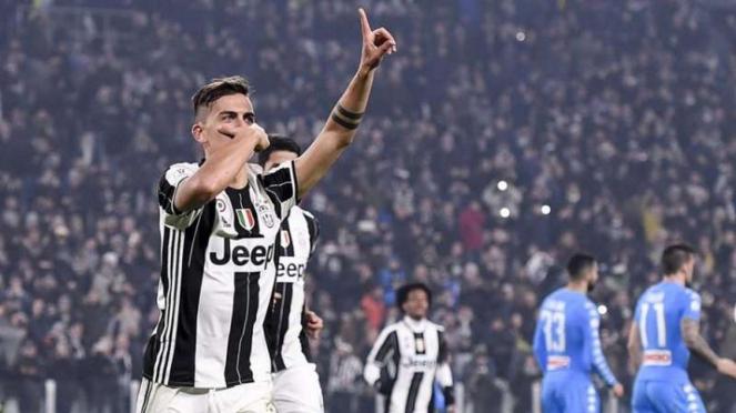 Penyerang Juventus, Paulo Dybala