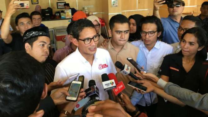 Wakil Gubernur DKI Jakarta, Sandiaga Uno.