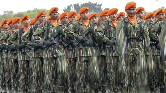 Ilustrasi prajurit TNI AU