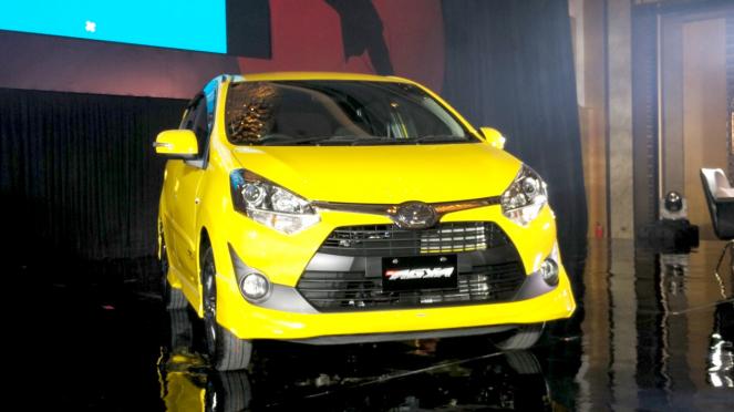 Toyota Agya baru.