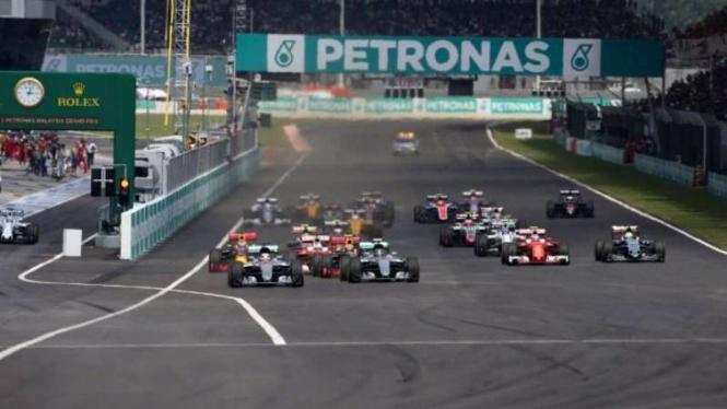 Balapan Formula One (F1)
