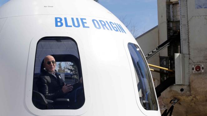 Blue Origin, Roket impian Jeff Bezos, CEO Amazon.