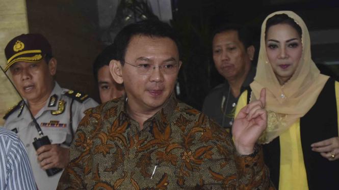 Gubernur DKI Basuki Tjahaja Purnama alias Ahok.