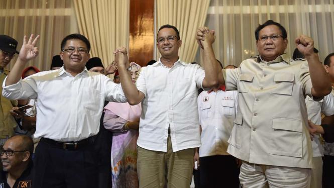 Pertemuan Anies Baswedan dan Prabowo Subianto