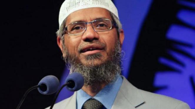 Dr Zakir Naik.