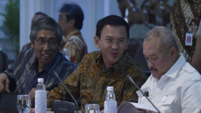 Basuki Tjahaja Purnama atau Ahok ketika menjabat Gubernur DKI Jakarta.