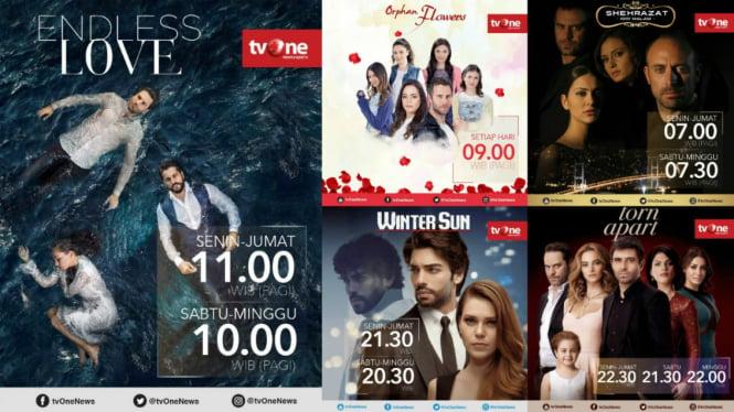 Serial-serial Turki yang tayang di stasiun televisi tvOne.