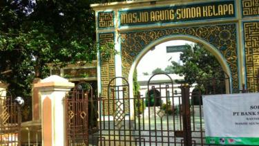 Masjid Sunda Kelapa sepi dari peserta Tamasya Al-Maidah