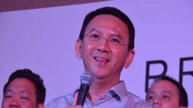 Mantan Gubernur DKI Jakarta Basuki Tjahaja Purnama atau Ahok.