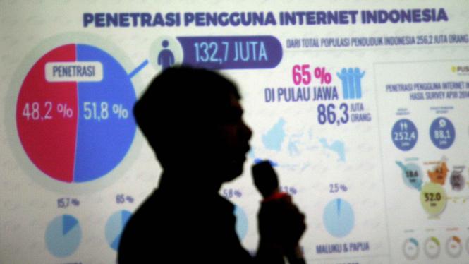 Ilustrasi startup lokal Indonesia.