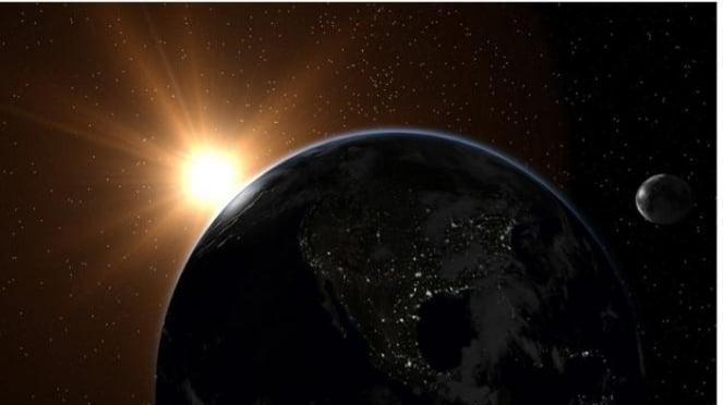 Ilustrasi luar angkasa.