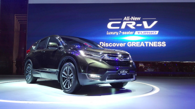 Honda All New CR-V Turbo.