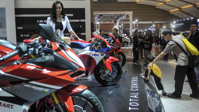 Deretan Motor Sport Honda di IIMS 2017