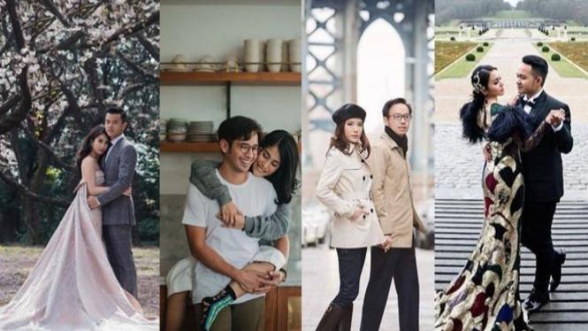 5 Tema Foto Prewedding Artis Yang Unik Dan Bisa Dicontek Viva