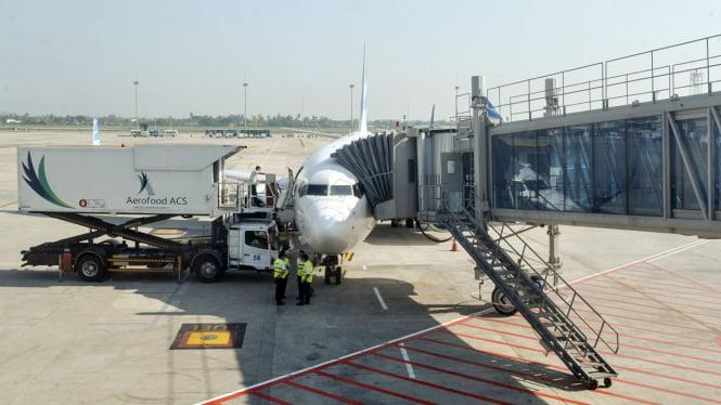 Ilustrasi Bandara Soekarno-Hatta.