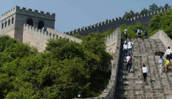 Tembok Besar China Palsu di Nanchang