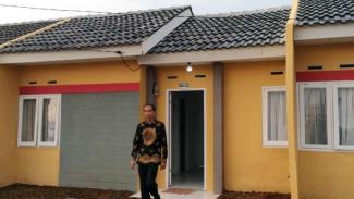 Presiden Joko Widodo saat meninjau rumah murah layak huni beberapa waktu lalu.