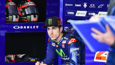 Maverick Vinales, pembalap Monster Energy Yamaha