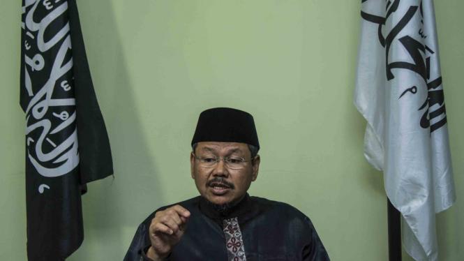 Mantan Juru Bicara Hizbut Tahrir Indonesia Ismail Yusanto.