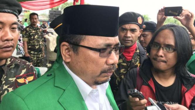 Ketua Umum GP Ansor, Yaqut Cholil Qoumas.