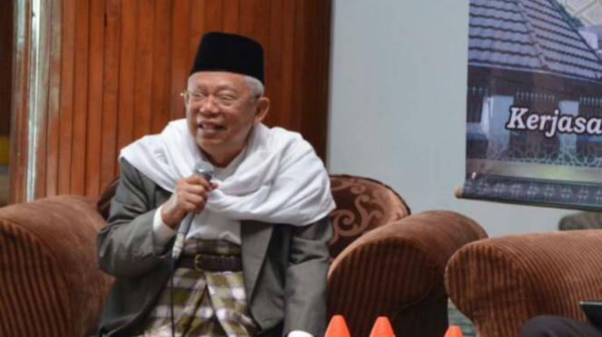 Ketua Umum Majelis Ulama Indonesia, KH Maruf Amin.