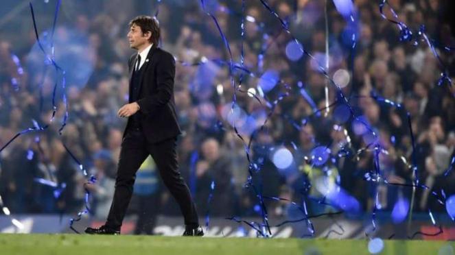 Calon pelatih anyar Real Madrid, Antonio Conte.