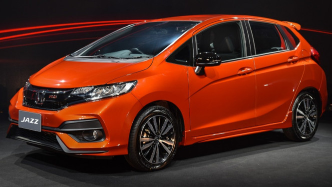 New Honda Jazz.