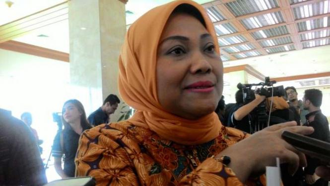 Menaker Ida Fauziah.