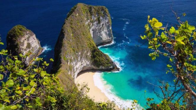 Pantai Kelingking di Nusa Penida.