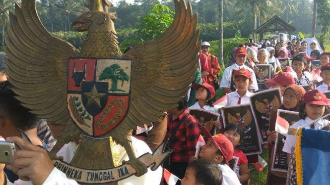 Ilustrasi Pancasila.