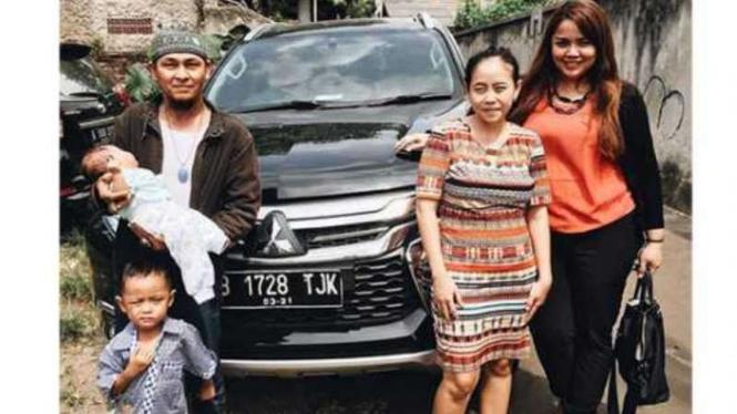 Bayi bernama Pajero Sport di Tangsel ditemui Mitsubishi.