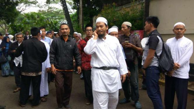 Ketua Presidium Alumni Aksi 212, Ustaz Ansufri Idrus Sambo.