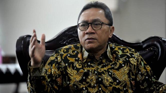Ketua Umum PAN dan Ketua MPR, Zulkifli Hasan.